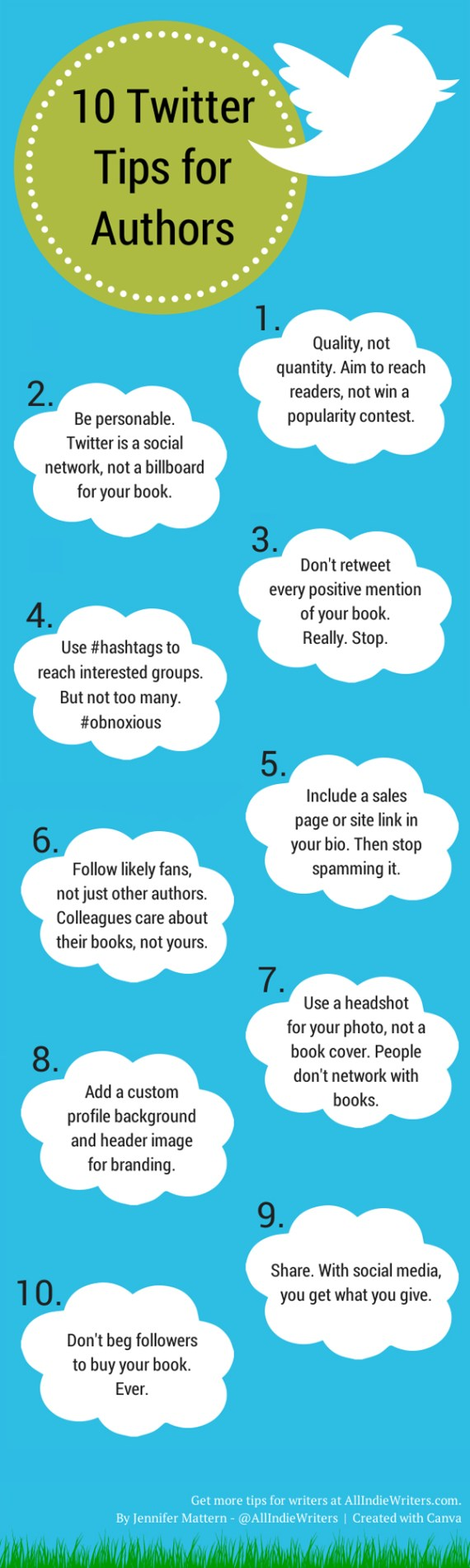 10 Twitter Tips for Authors