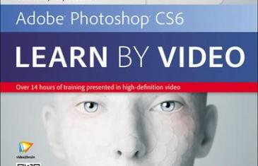 Adobe Photoshop CS6 Learn by Video cover(allinonetutorial.com)