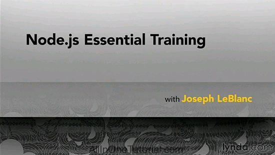 Node.js Essential Training (Lynda) Free Download