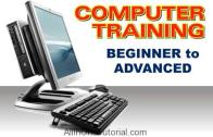 Computer Training Beginner To Advanced Interactive Tutorial Free Download
