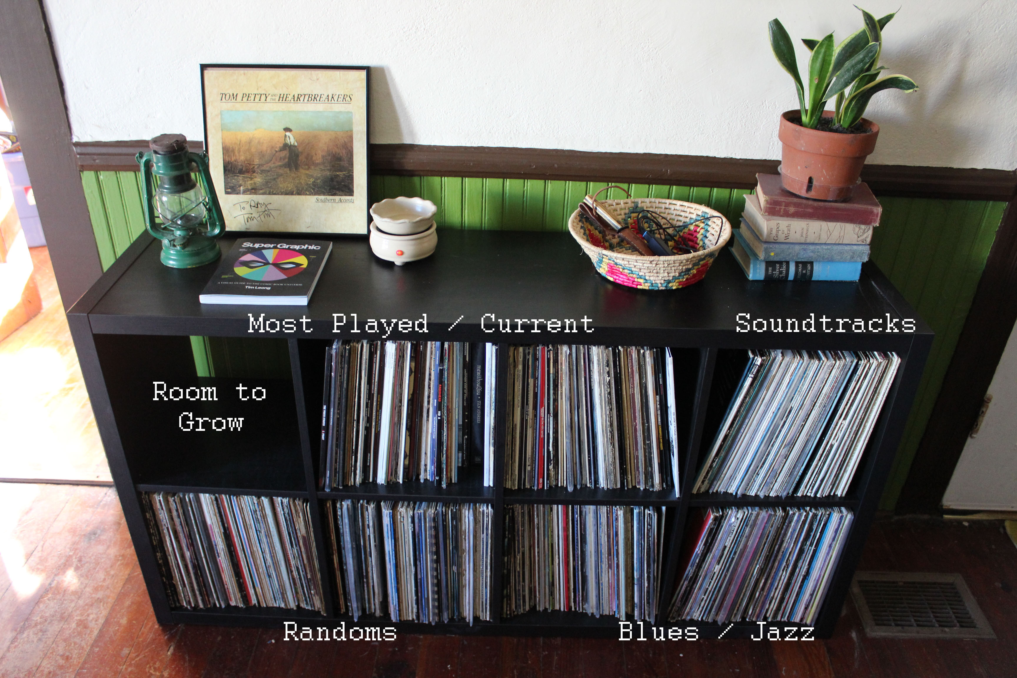 Ikea Kallax Cd Storage Records Alliray