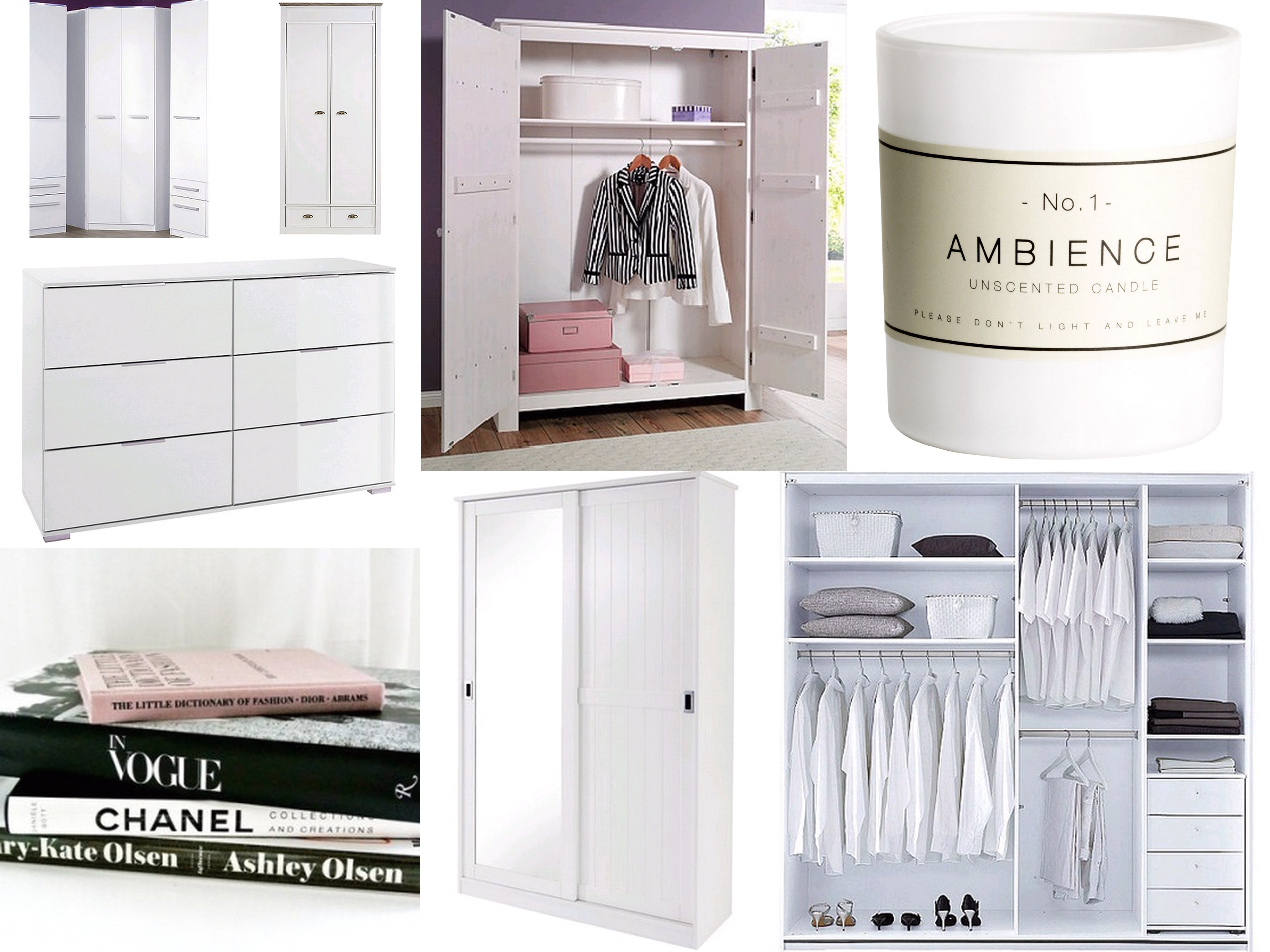 Walk In Closet Inspiratie Inspiration For The Perfect Wardrobe All Lovely Things