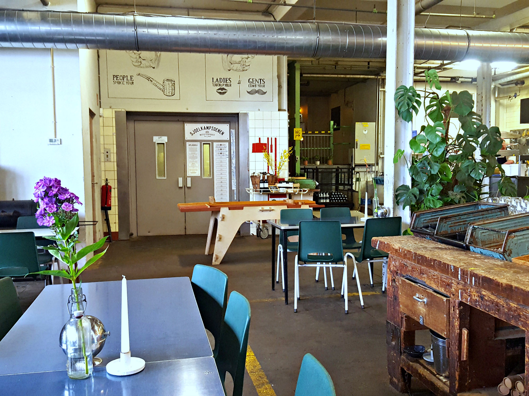 Afbeelding Industrieel Interieur Lunchen Bij Meesterproef Industrieel Interieur All Lovely Things
