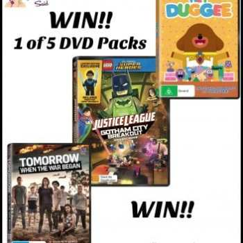 DVD giveaway pack