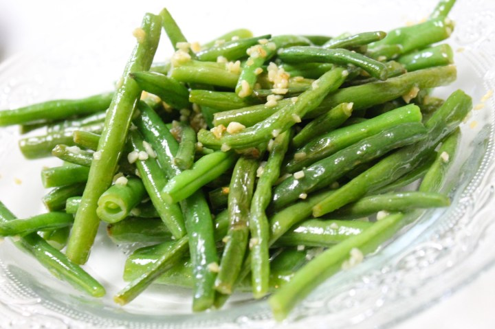 Garlic & Butter Green Beans - All My Good Things