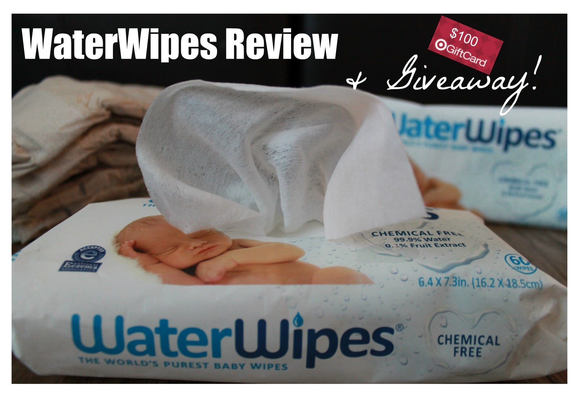 Target Baby Wipes Waterwipes Review And Target Gift Card Giveaway All Natural Savings