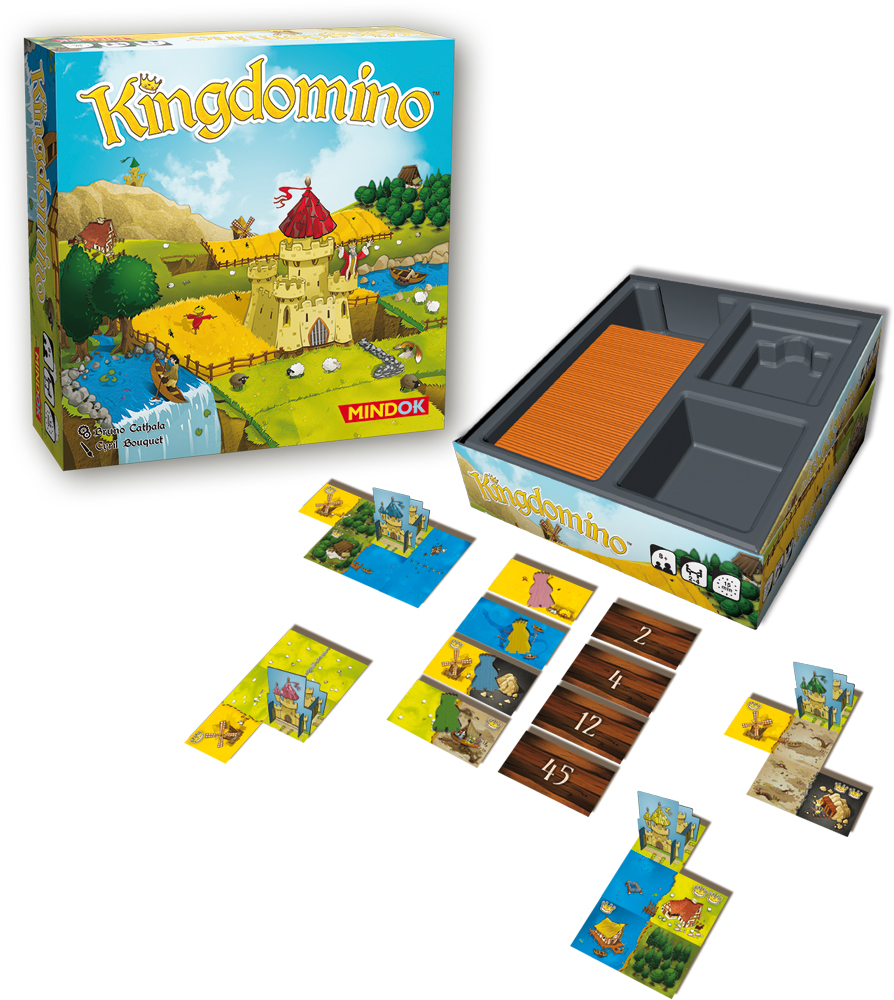 Jeux Domino Avis Kingdomino Blue Orange Jeu De Société Allo Escape