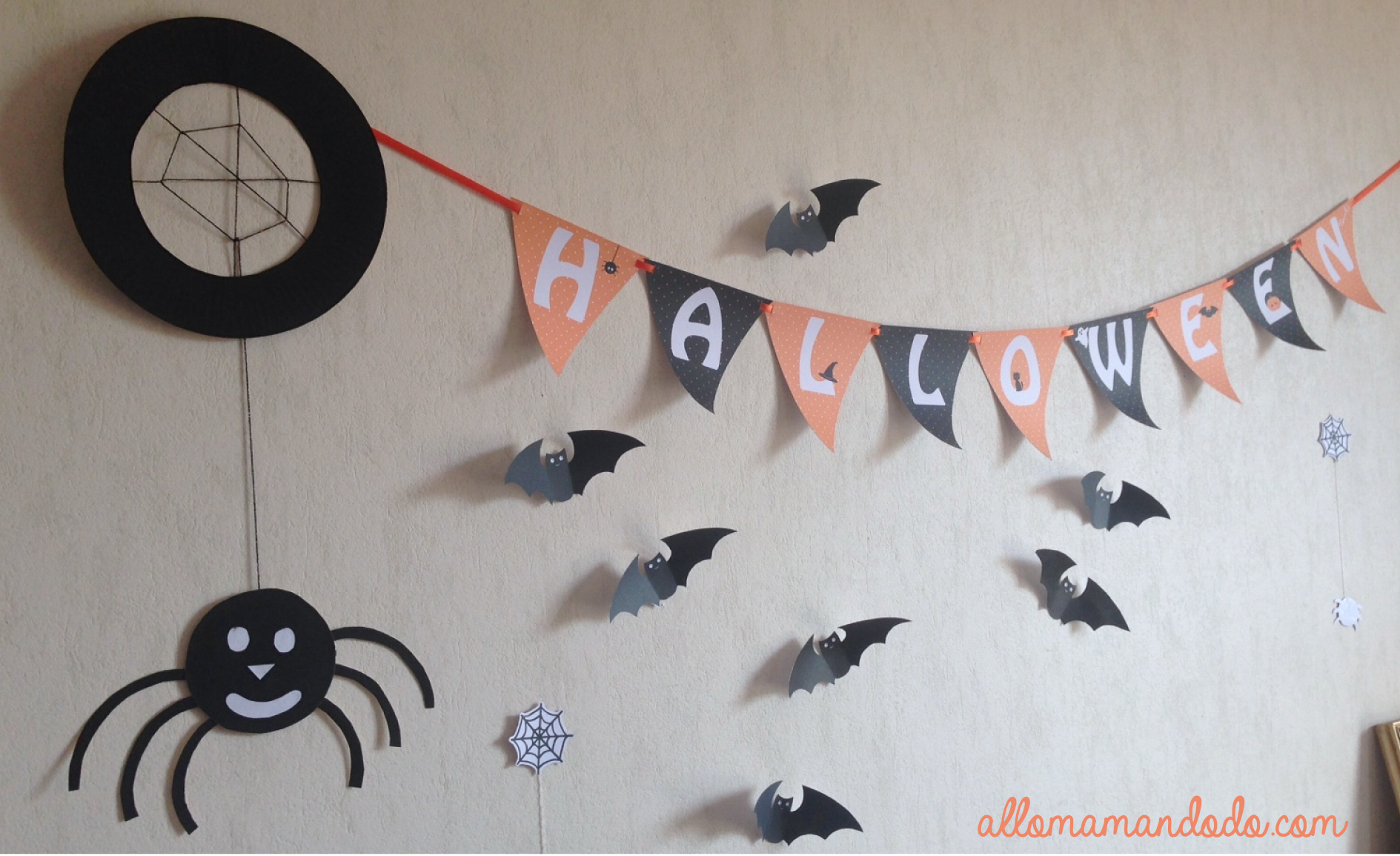 Decoration Halloween Facile A Faire Decoration Halloween Facile En Papier