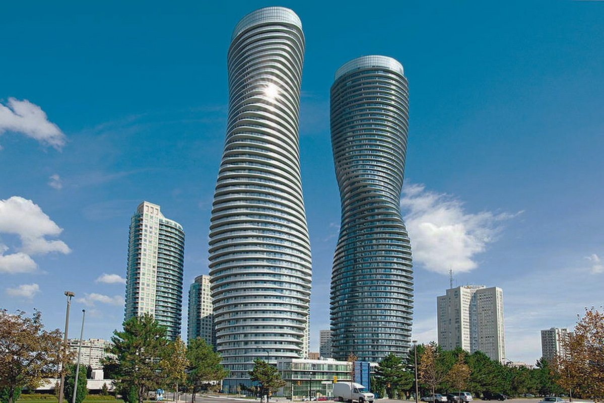 Monroe Canada Iconic Marilyn Monroe Towers In Mississauga All Ontario
