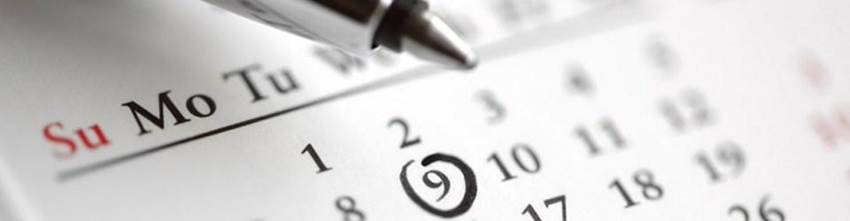 calendar for events