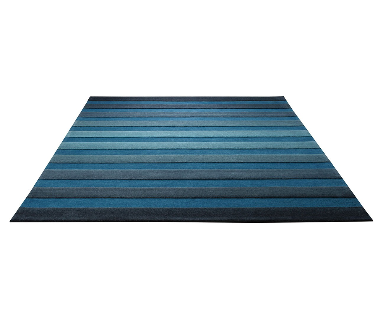 Tapis Salon Bleu Gris Tapis De Salon Bleu Cross Walk Par Esprit Home