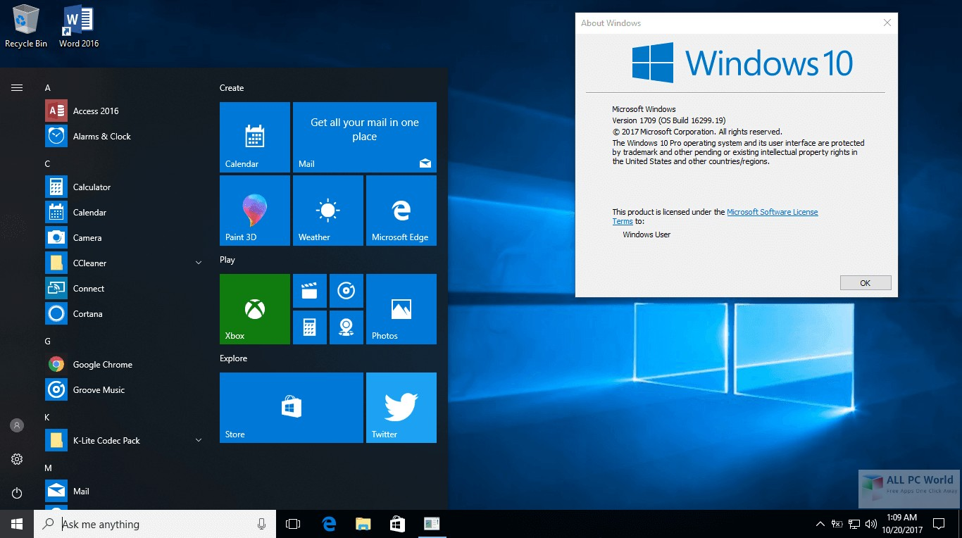 Rs3 Download Download Windows 10 Aio Rs3 V1709 16299 19 Dvd Iso All Pc World
