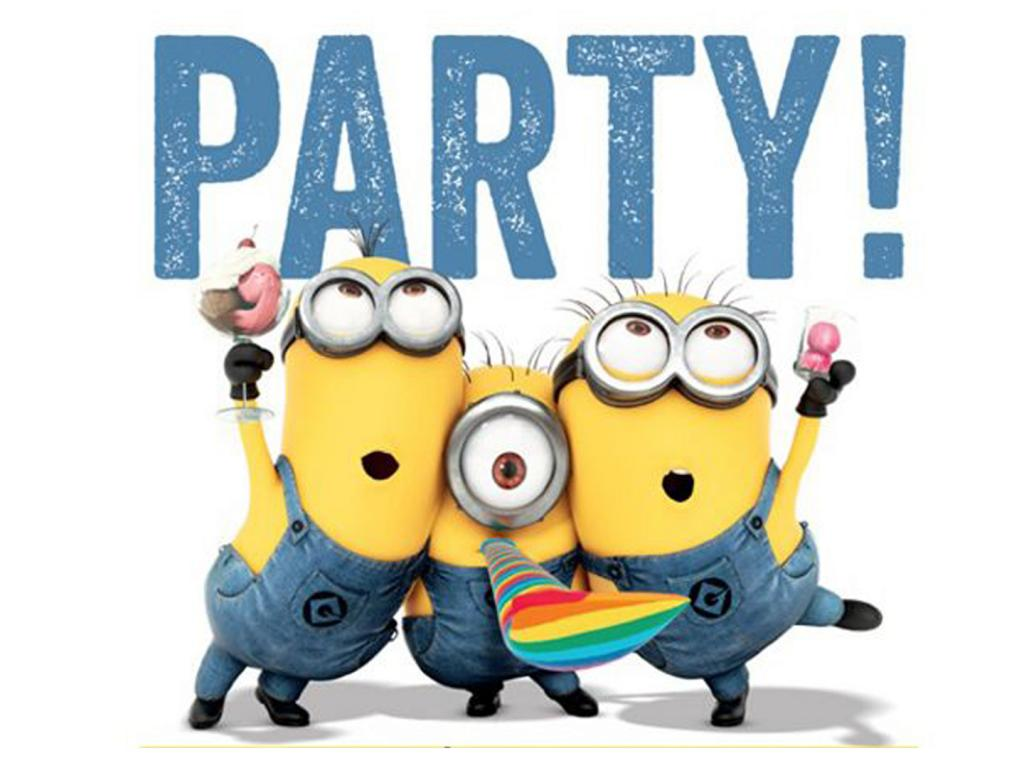 Grayscale Girl Wallpaper 37 Cute Stuff Wallpapers Minions In Party Hd