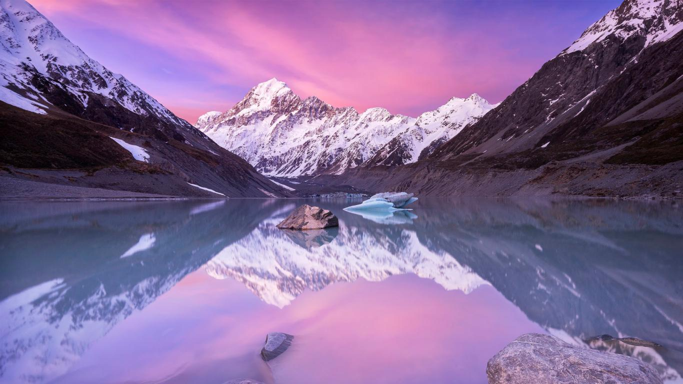 Austria Wallpaper Hd Aoraki Mount Cook New Zealand Picture For Hd Nature