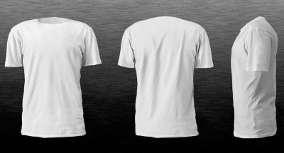 Realistic Blank Tshirt Template in White Color - HD Wallpapers | Wallpapers Download | High ...