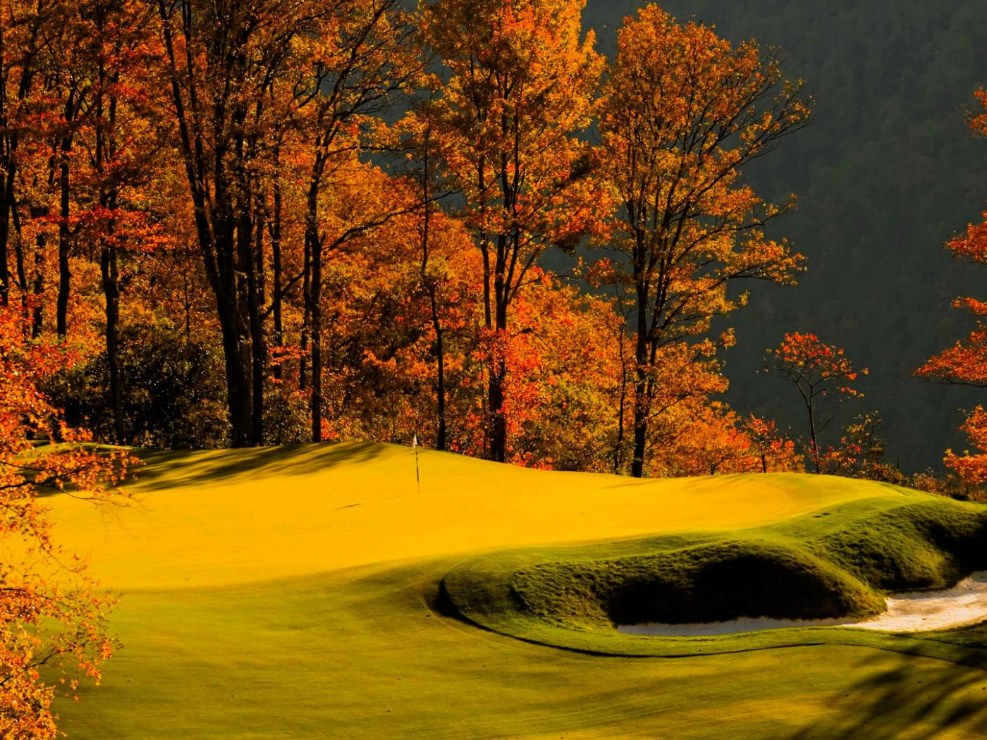 New England Fall Wallpaper Free Autumn Golf Course Wallpaper In 1920x1080 Hd Wallpapers
