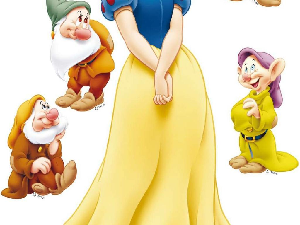 Cute Marshmallow Wallpaper Hd A Picture Of Snow White And The Seven Dwarfs For Android