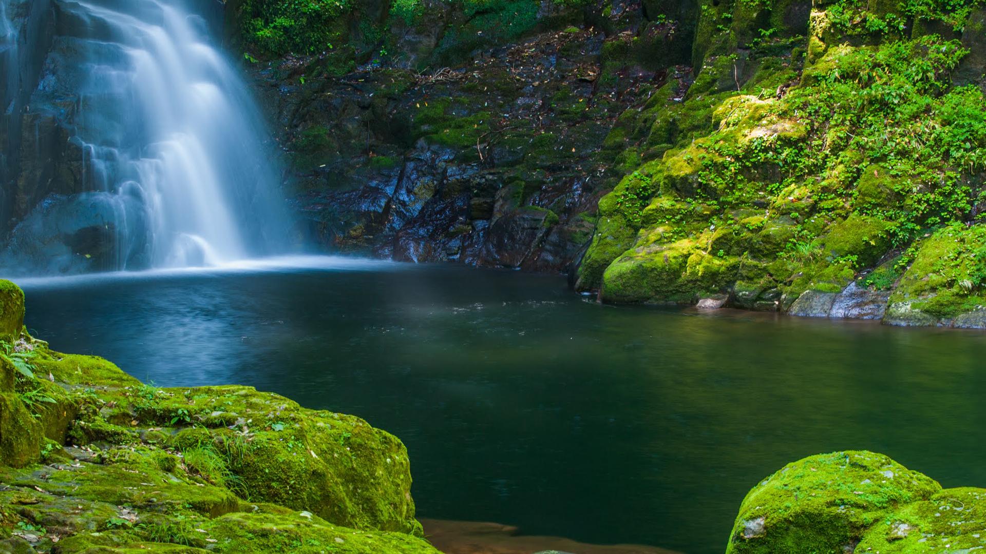 Falls Wallpaper Waterfall Nature Images Hd Akame Shijuhachi Waterfall Japan Hd