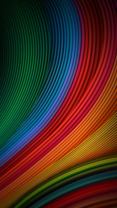 Cool Phone Wallpapers 06 of 10 with Colorful Waves for for Xiaomi Redmi Note 4 Background - HD ...