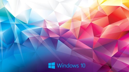 3d Hd Wallpapers Download Windows 10 Wallpaper Abstract 3d Colorful Polygon Hd