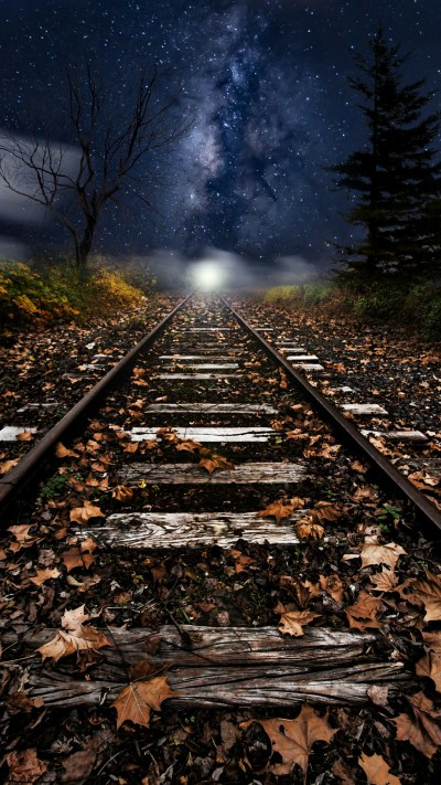 Xiaomi Redmi Note 4 Wallpaper with Artistic Picture of Old Railway - HD Wallpapers | Wallpapers ...