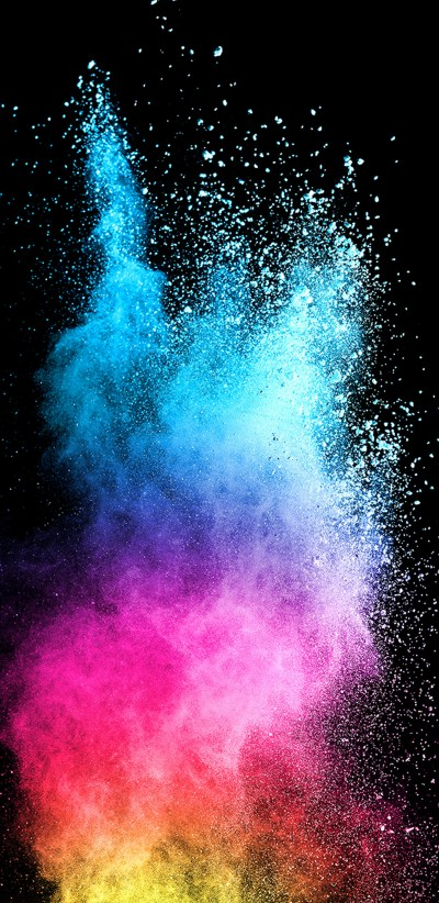 Abstract Colorful Powder with Dark Background for Samsung Galaxy S9 Series Wallpaper | HD ...