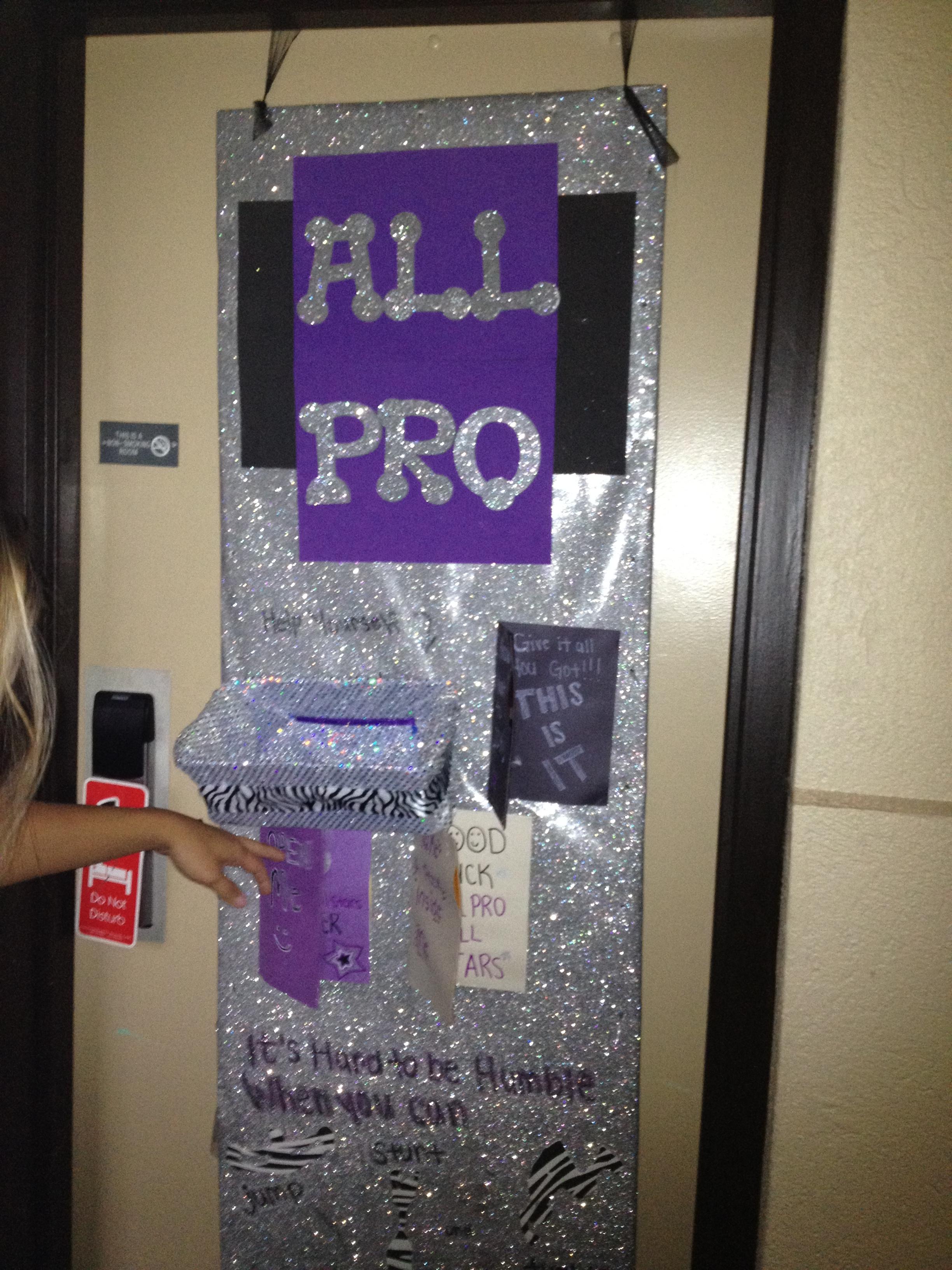 All Pro All Stars Door Decorating Contest
