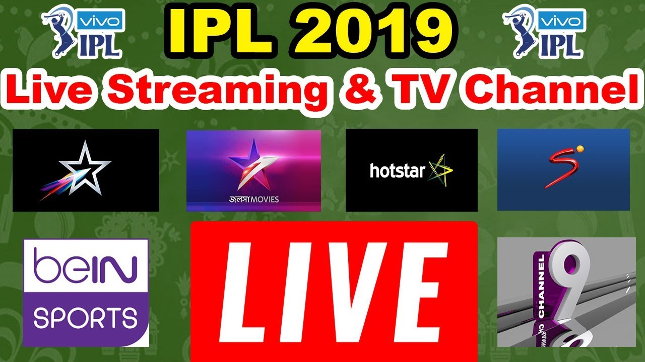 Cast Tv Channels Ipl 2019 Broadcast Channel In India Archives All Recharge Plans