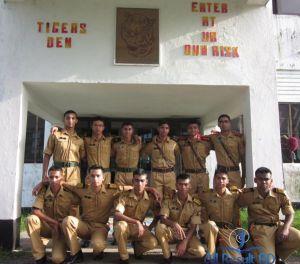 Cadet college Students