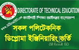 Polytechnic Diploma Engineering Admission Result Notice 1st Shift 2015