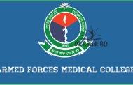 Armed Forces Medical College Admission Result Notice 2015-16