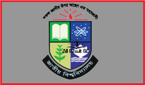 NU Honours 1st Year Admission Result Determine Process
