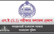 BD Police Sub Inspector (SI) Written Exam Result 2015