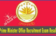 Prime Minister Office (NSI) Recruitment Exam Result 2015