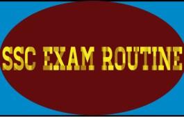 SSC Exam Routine 2016 Bangladesh Education Board