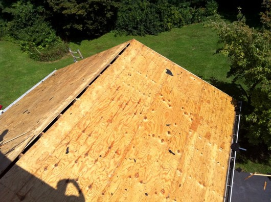 7 steps to roofing replacement all roofing solutions for What to use for roof sheathing