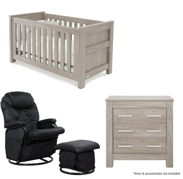 Baby Cot Hire Love N Care Bordeaux Nursery Package