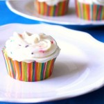 Lemonade Cupcakes with Cream Cheese Frosting