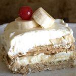Banana Cream Dessert – No Bake Recipe