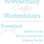 Wonderfully Creative Wednesday