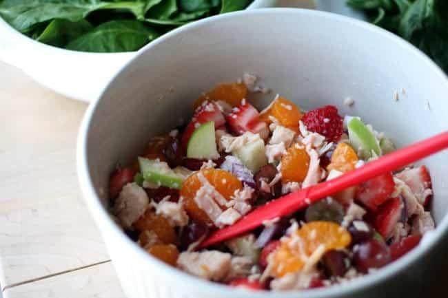 Healthy Chicken Salad Recipe #MyPicknSave #CollectiveBias #shop