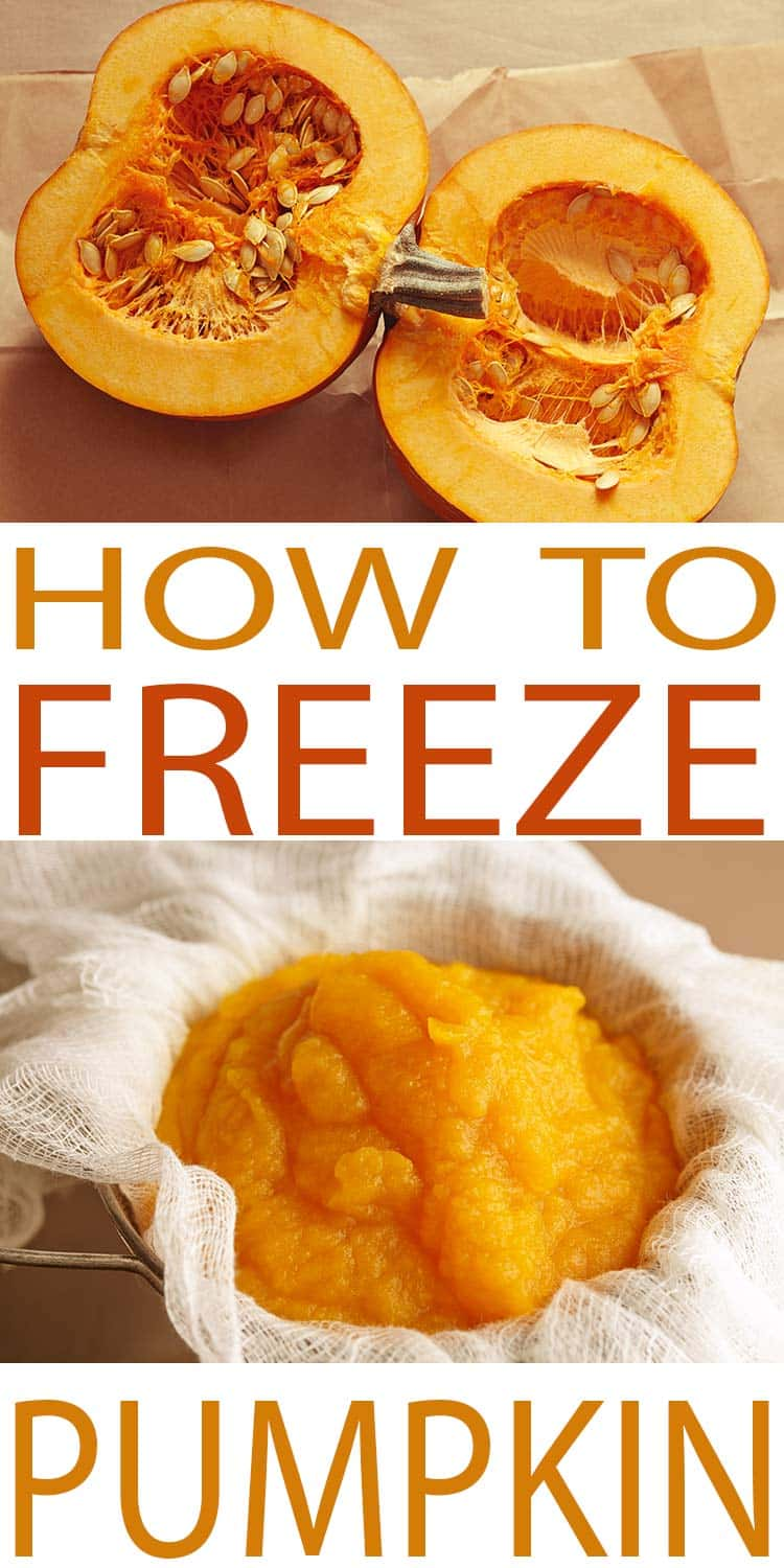 Freezer Pumpkin- How to Freeze Pumpkin