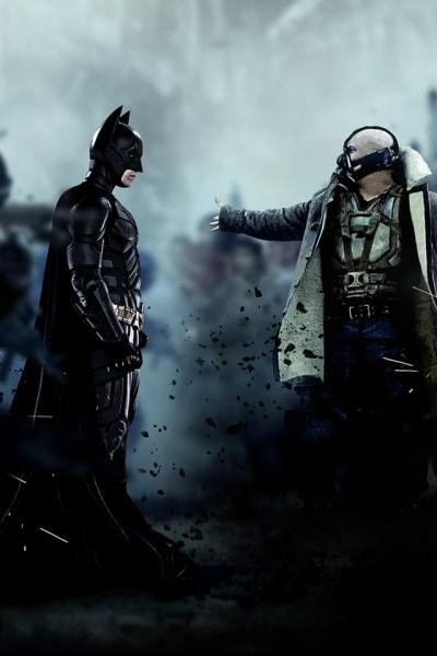 terralonginqua: Bane vs Batman / the dark knight rises cinema wallpaper