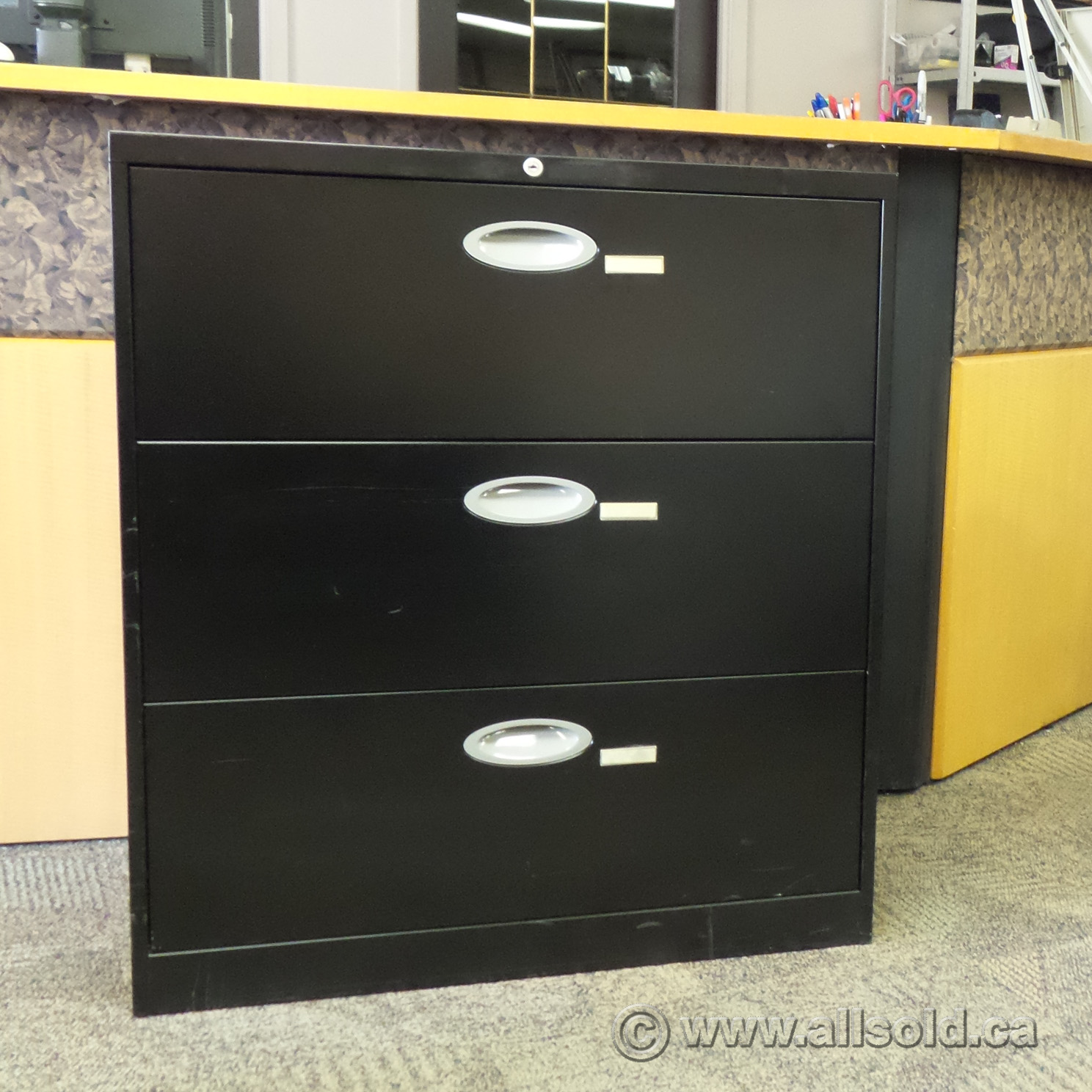 Kitchen Cabinets Repair Calgary Steelcase Turnstone Black 3 Drawer Lateral File Cabinet