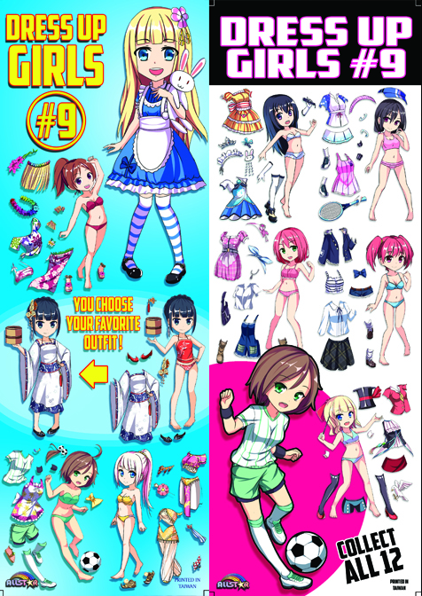 Dress Up Girls #9 Stickers