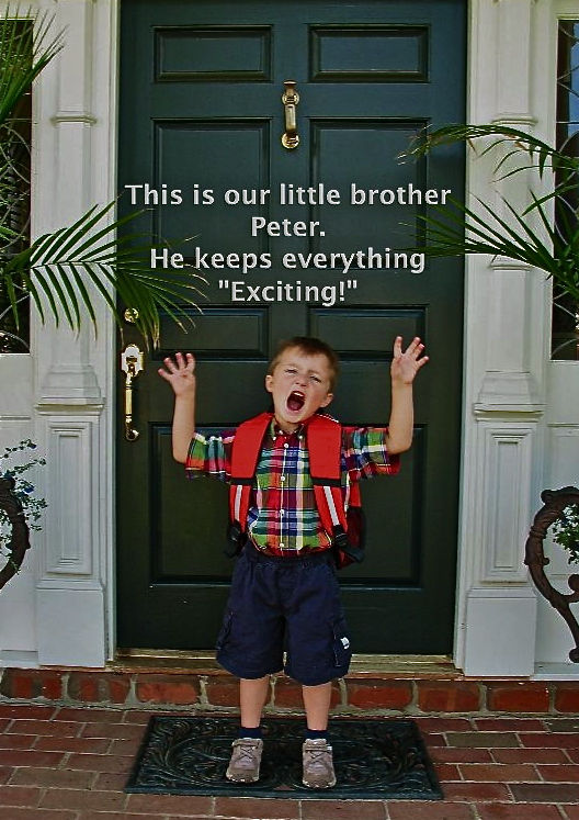 Peter keep things exciting