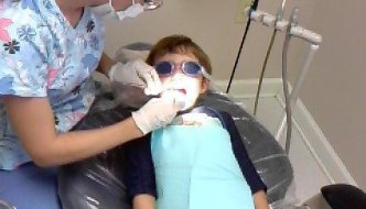 Pool + Dentist = (See Photo)