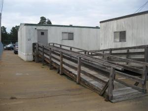 Imagine having to manage the maze of doors and ramps outdoors and during poor weather.