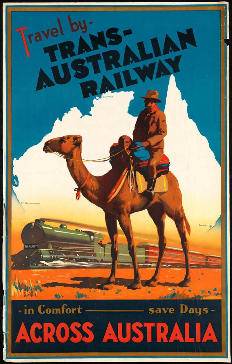 Posters Perth 30 Beautiful Vintage Travel Posters For You To Ogle Over