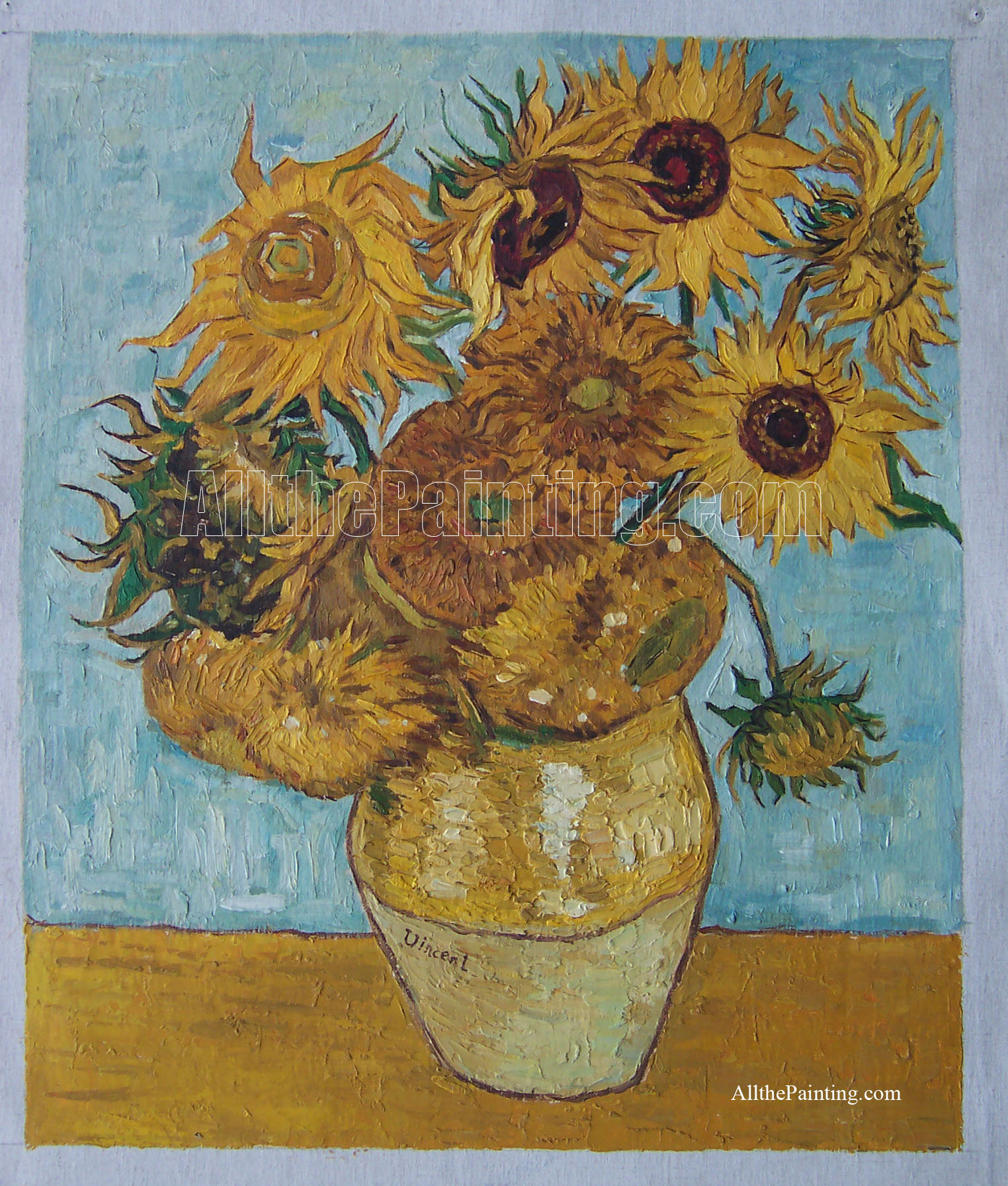 Vincent Van Gogh Paintings Sunflowers Famous Painting Reproduction All The Painting